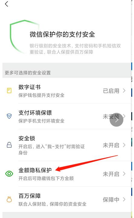 微信怎么關閉錢包余額顯示?微信關閉錢包余額顯示的步驟截圖