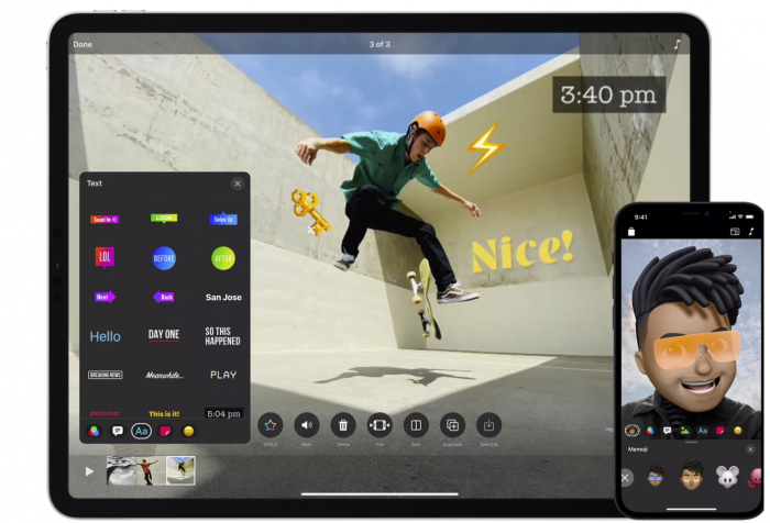 随3.0更新 Clips视频应用支持三种模式录制
