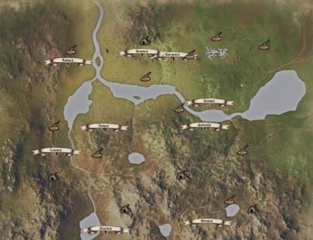 中世纪王朝动物及npc位置分布图 中世纪王朝资源在哪截图