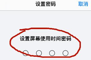 iPhone12怎么設置屏幕使用時間的密碼 iPhone12啟用為屏幕使用時間密碼方法截圖