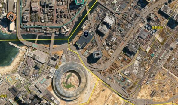 賽博朋克2077隱藏地鐵站在哪裡?賽博朋克2077隱藏地鐵站分布位置圖解截圖
