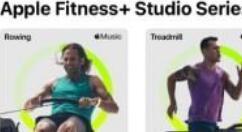 苹果 Fitness + 新增26种新课程 目录锻炼总数近300