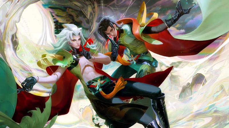 官方公开:元歌「云间偶戏」将作为《王者荣耀》S22战令80级奖励