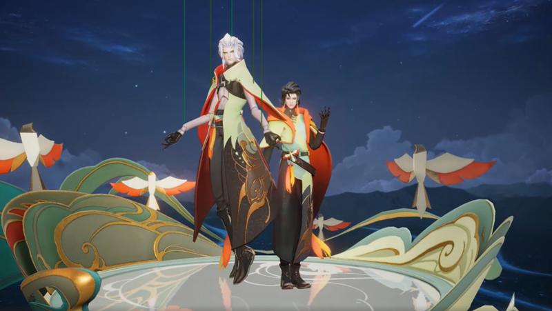 官方公开:元歌「云间偶戏」将作为《王者荣耀》S22战令80级奖励截图