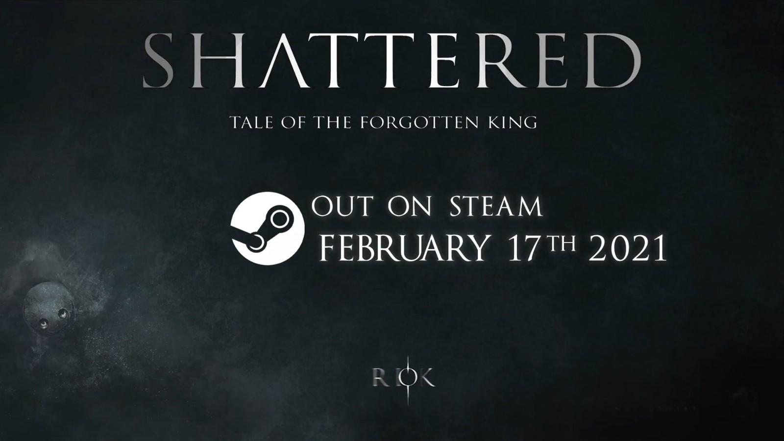 类魂游戏《破碎:被遗忘的国王》2月17日登陆Steam 2D与3D结合