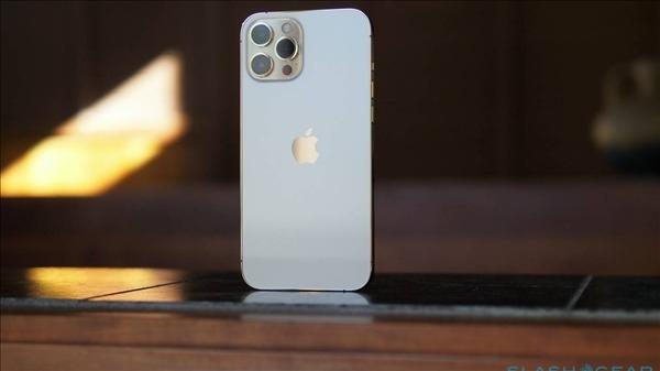 网曝iPhone 12s Pro Max渲染图:首次搭载高样子刷 屏下指纹配置截图