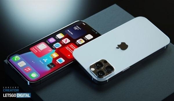 网曝iPhone 12s Pro Max渲染图:首次搭载高刷 屏下指纹配置截图
