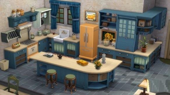 """《模拟人生4》发布3个新DLC """"复古风潮""""、""""乡村厨房""""、""""灰尘大作战""""截图"""