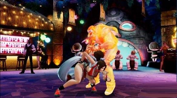 《拳皇15》介绍经典新角色 不知火舞登场截图