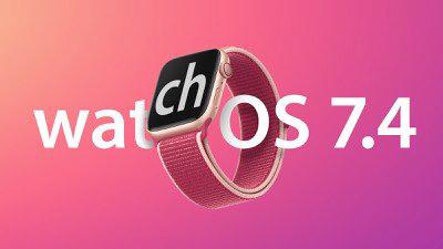 苹果发布 watchOS 7.4 正式版更新 可解锁iPhoneX及后续机型