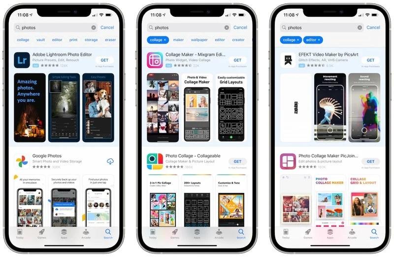 苹果 App Store 将优化搜索功能 推出搜索标签功能