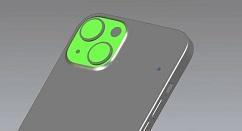 iPhone 13的CAD模型渲染图曝光:后摄采用对角线排列