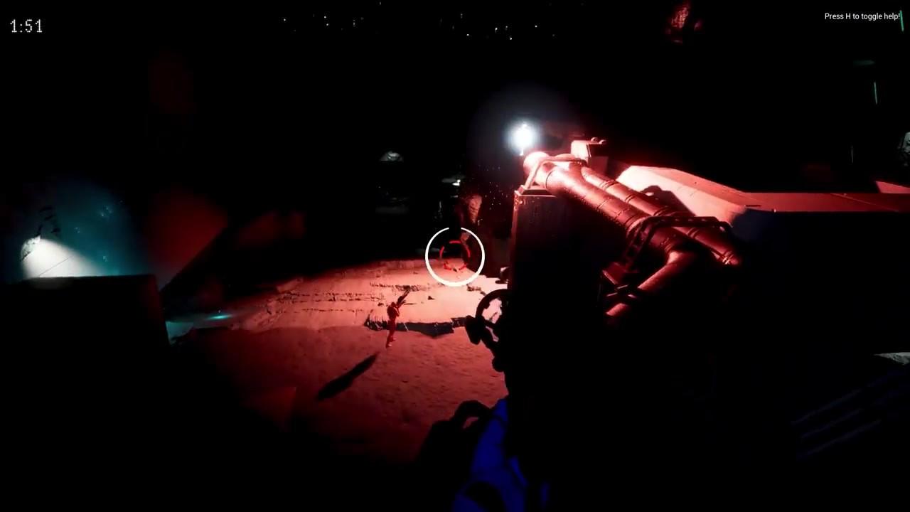 多人竞技射击游戏《微光战斗》免费登陆Steam 搭载虚幻5Lumen截图