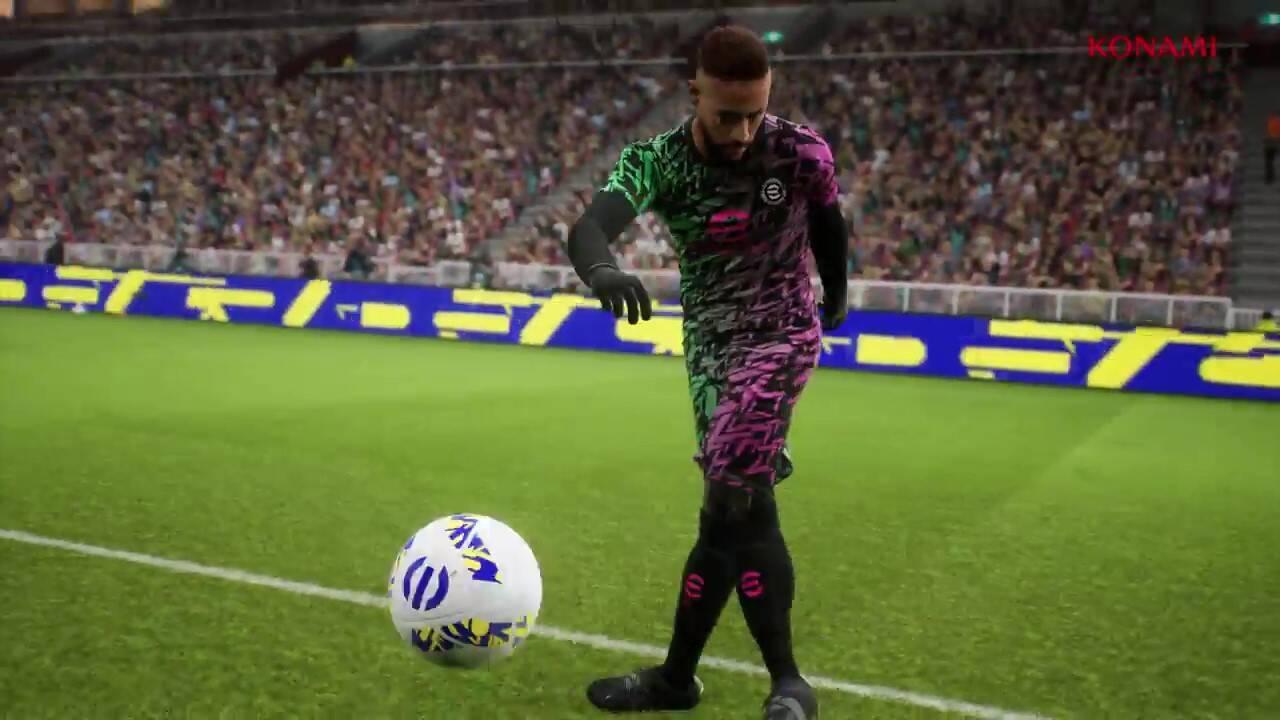 科乐美免费足球新作《eFootball》今秋登陆全平台 支持跨平台截图