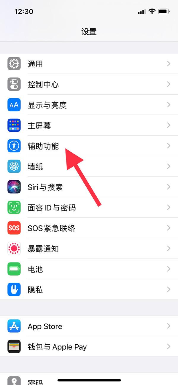 iphone11如何設置懸浮球?iphone11設置懸浮球教程截圖