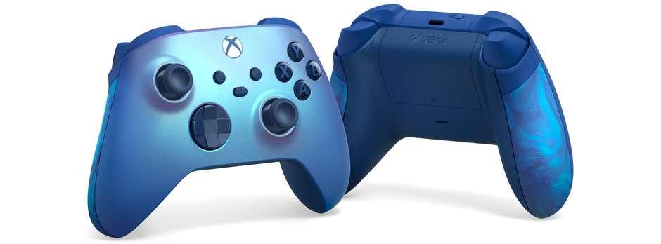 微软 Xbox 全新蓝色系无线手柄开启预售 9月1日推出截图