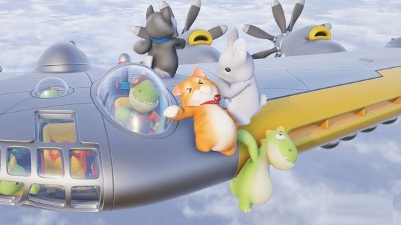 国产多人欢乐休闲游戏《派对动物》2022年登陆PC和Xbox 支持简中截图