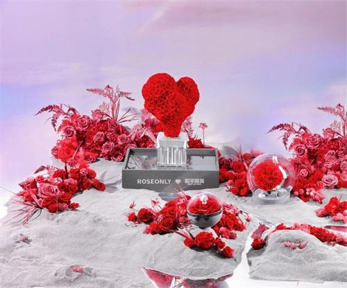 《和平精英》联动ROSEONLY限量联名产品七夕上线 吉莉精美海报赏截图