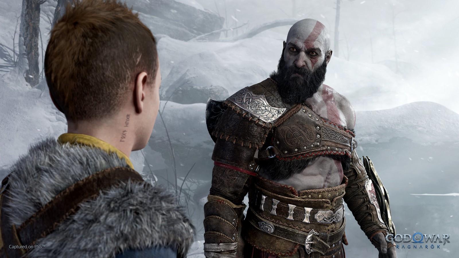 《战神:诸神的黄昏》正式公开 预计登陆PS4/PS5截图